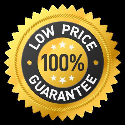 low price guarantee badge